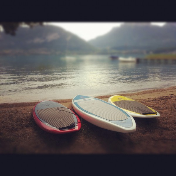 early stand up paddle sessions