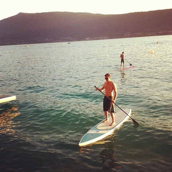 """riviera voyager 12'6"""" le stand up paddle de luxe !"""