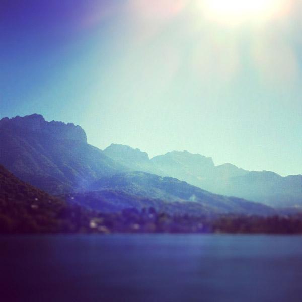 previsions meteo lac d'Annecy pour le samedi 15 septembre