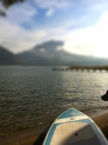 Profitons de l'été indien sur le lac d'Annecy