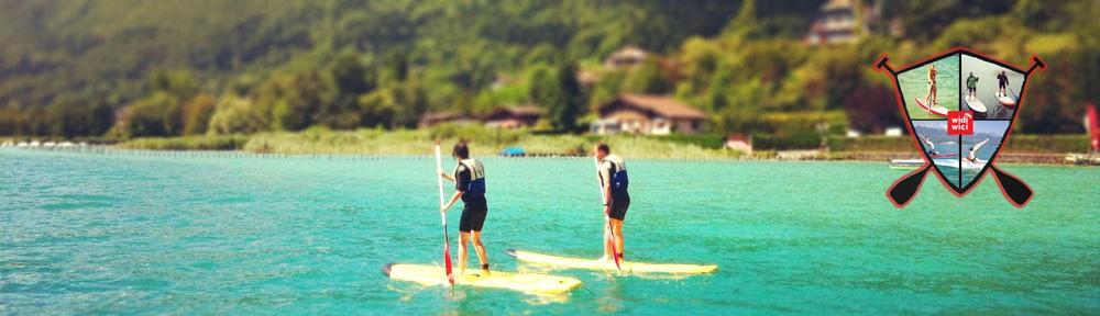 NCY SUP Lac d'Annecy – location paddle et centre de test à Sevrier