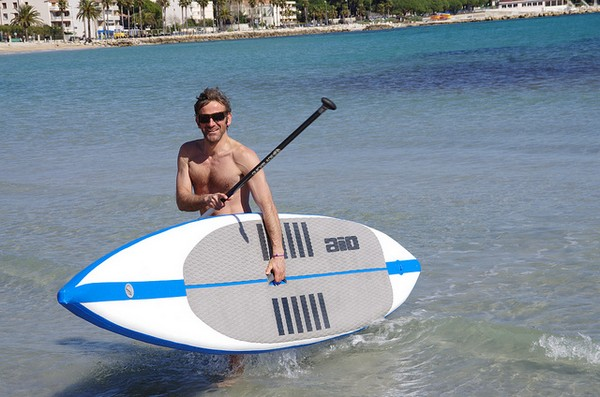 test proto stand up paddle race gonflable
