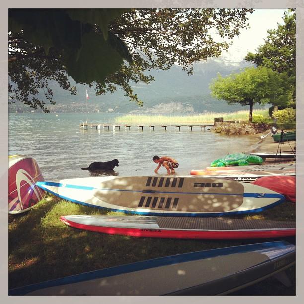 Un coin de paradis sur le lac