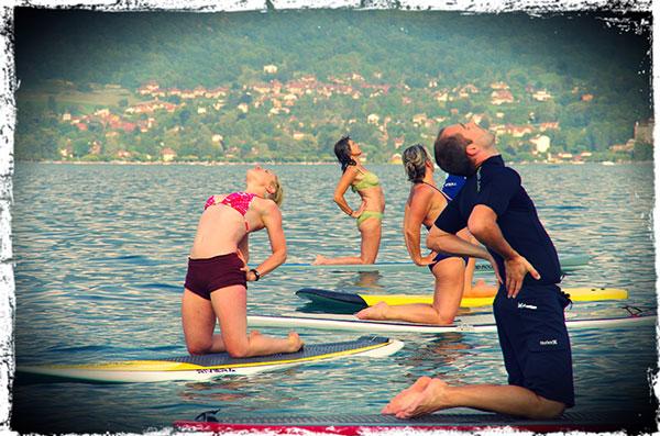 Paddle Yoga au NCY SUP