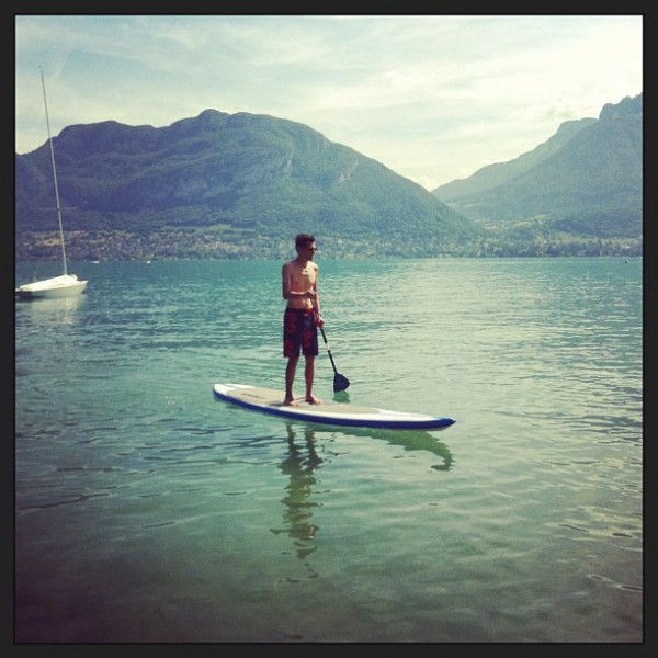 C'est l'été sur le lac d'Annecy