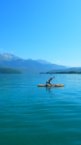 Yoga Paddle  Annecy Cecile Roubaud
