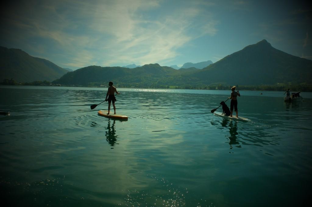 L'été revient ! Conditions magiques pour le stand up paddle !