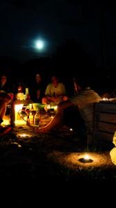 paddle de nuit et burger