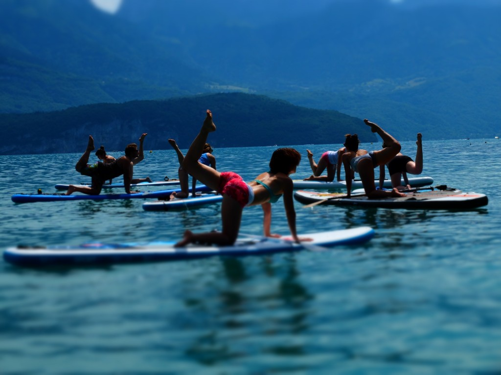 yoga paddle lac annecy