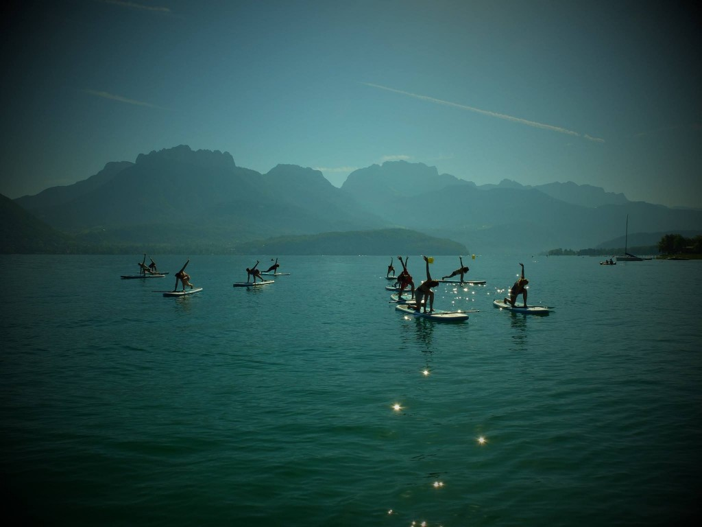 Paddle Yoga Annecy