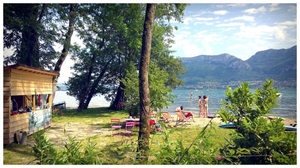 Bientôt le printemps ! la saison du stand up paddle sur le lac approche !