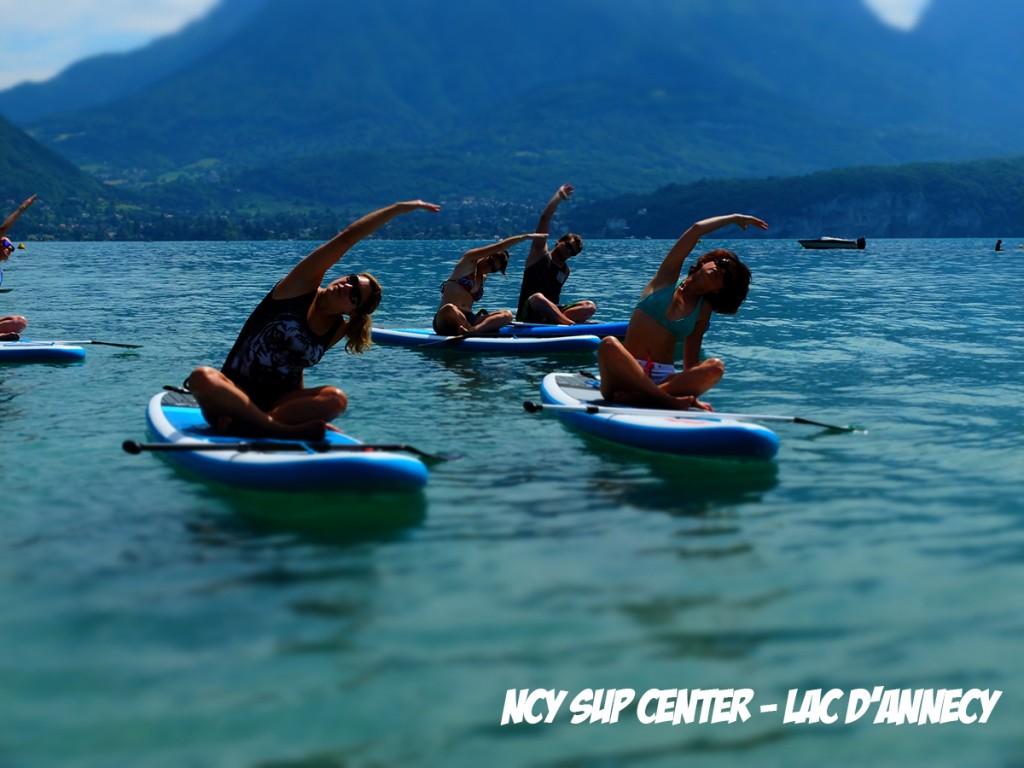Paddle Yoga et Fitness dimanche !