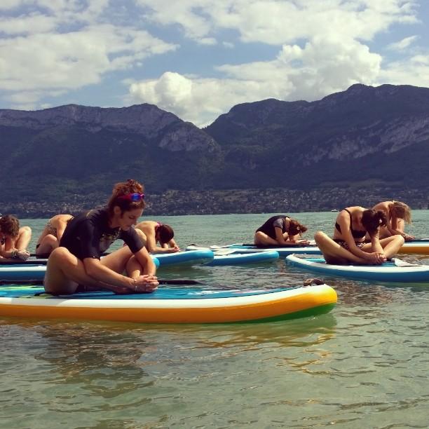 Paddle Yoga samedi matin !