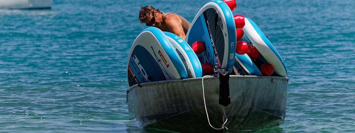 Livraison stand up paddle Menthon Saint Bernard