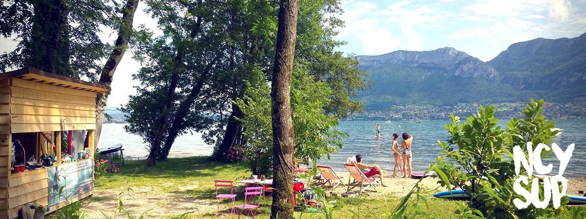Un coin de paradis au bord du lac d
