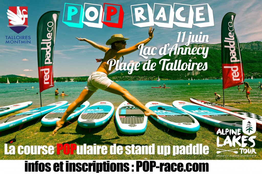 pop race race talloires lac d'Annecy