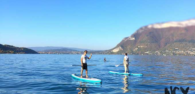 paddle toussaint lac annecy